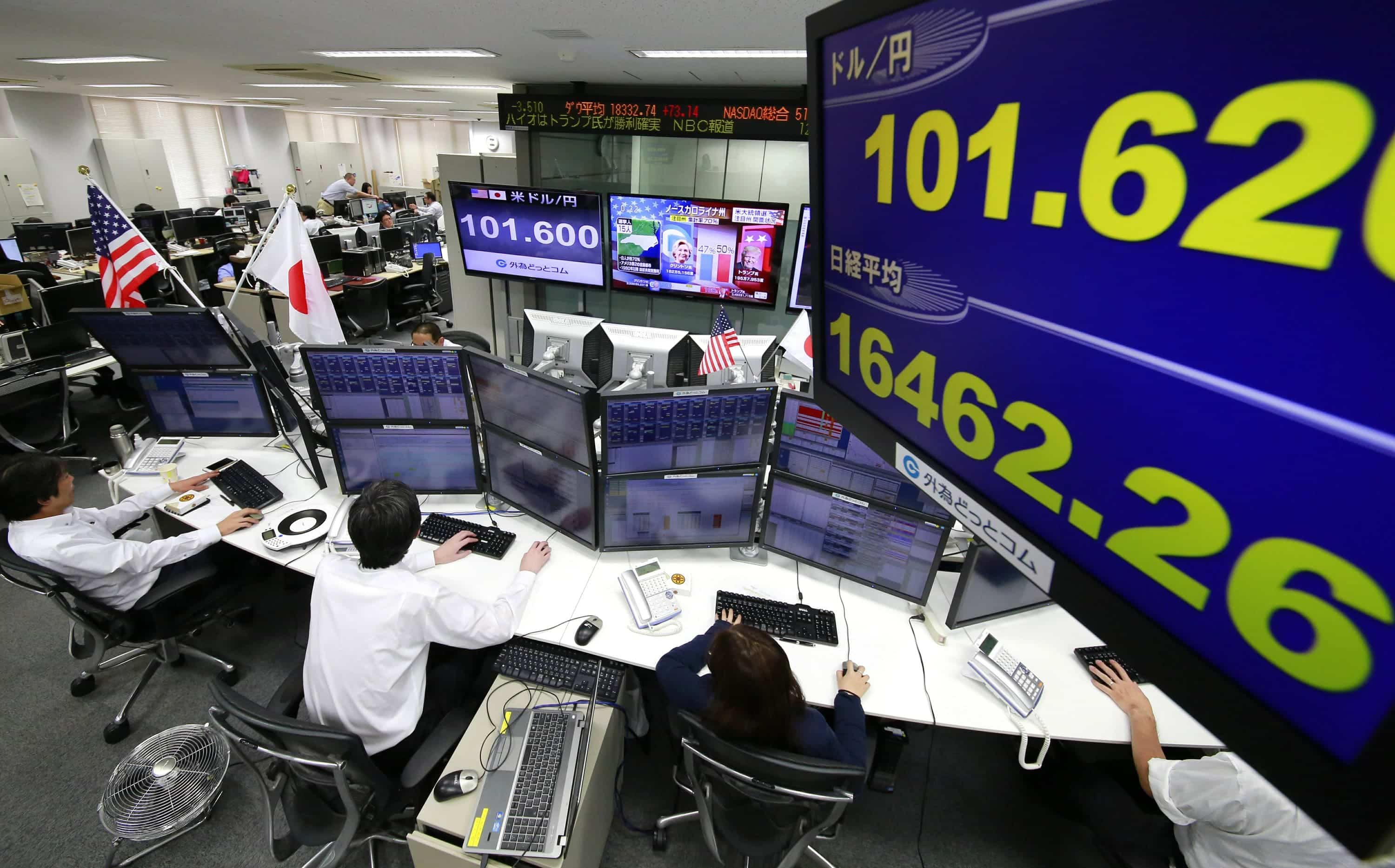 Asian Shares Dip As Uncertainty In Global Market Prevails