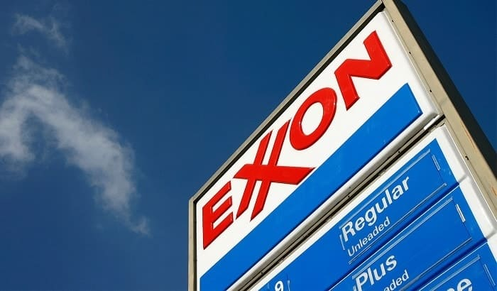Exxon Mobil Shares Decline as CEO
