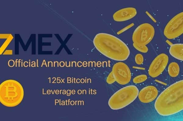 ZMEX Announces Launch of Platform With 125 Times Bitcoin Leverage