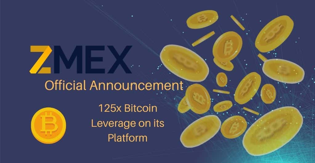 ZMEX to Officially Launch Its Platform With 125x Bitcoin Leverage