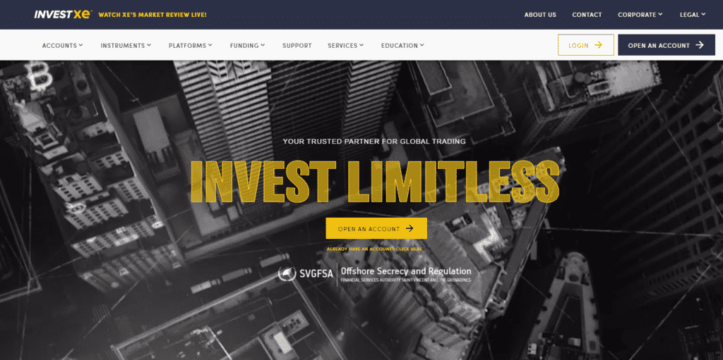 InvestXE Review- Overview